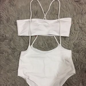Other - White bikini